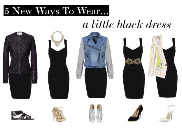 5 New ways to wear a little black dress