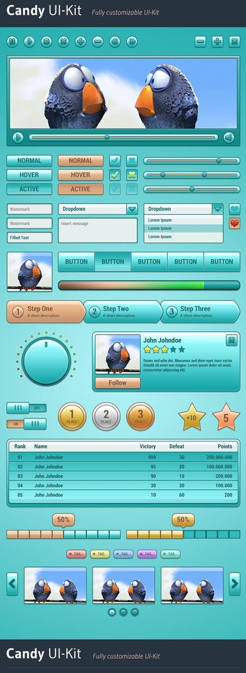 88 best Free UI Kit PSD images on Pinterest User interface, Ui kit - fresh blueprint 3 free download