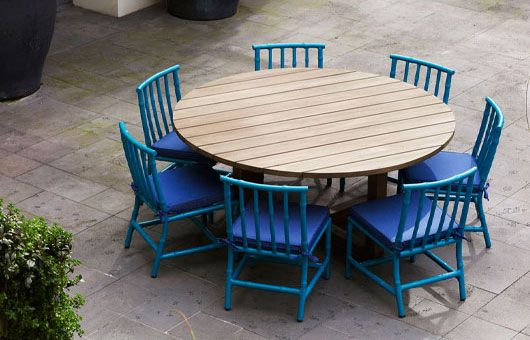 140 best outdoor eating furniture images on pinterest armchairs arm chairs and bistros. Black Bedroom Furniture Sets. Home Design Ideas