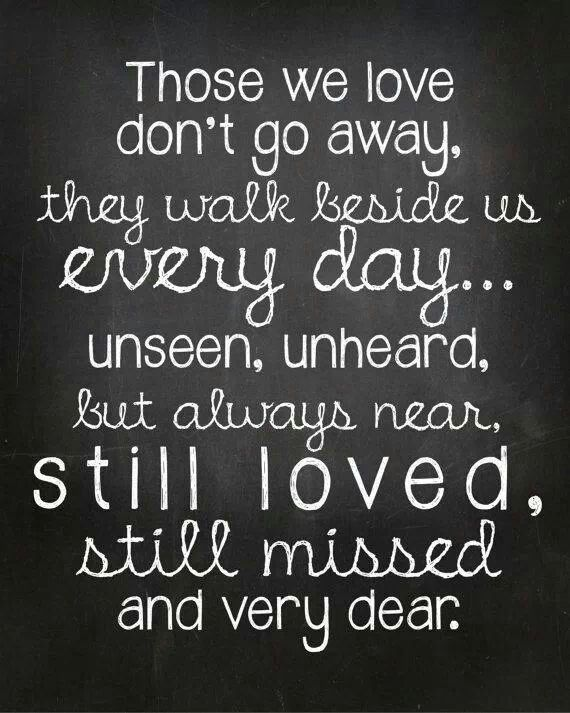 I came back from a trip to see that three very special people passed away.  This goes out to their families and me.  Loss of a loved one is such a permanent void.  They are forever with us, deep in our souls.  Everyday!!