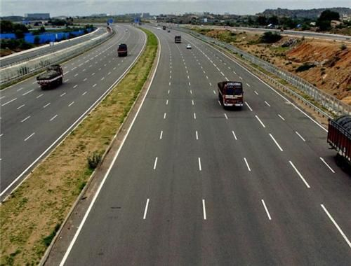 In Karnataka the land acquisition begins through the 76 km stretch of the road which goes through Karnataka.