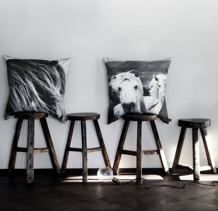 As it turns out my horse obsession didn't last for only a week… These cushions here are by Nord Copenhagen.
