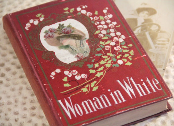 Antique Woman in White book by Wilkie Collins
