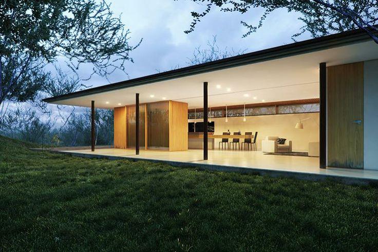 """gci >> Los Faiques Dwelling CG visualization of """"Los Faiques Dwelling"""" (Yunguilla Valley, Ecuador), by Duran&Hermida arquitectos asociados. (3ds Max + Vray + AE)"""