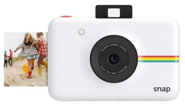 Appareil photo numérique avec imprimante intégrée, 129 € (Polaroid aux Galeries Lafayette).