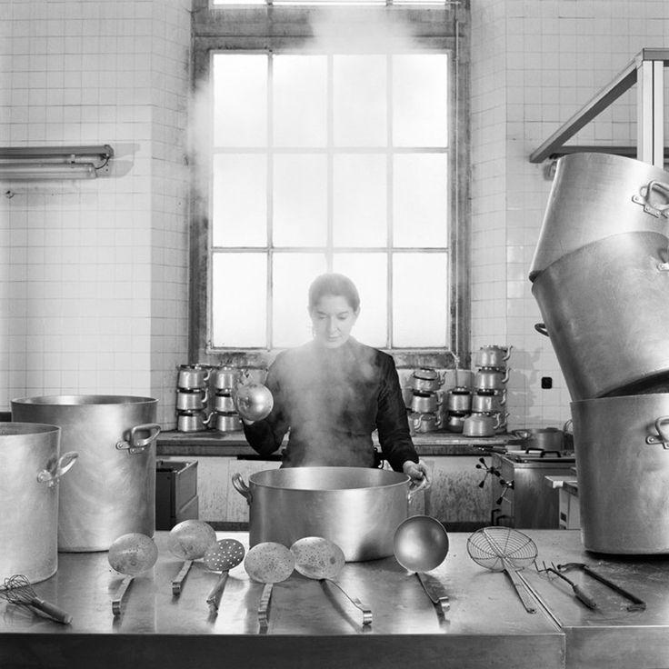 Marina Abramovic  'THE KITCHEN VII'  Art Experience NYC