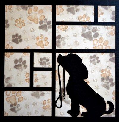 EZLaserDesigns : Friends Fur-Ever Art  scrapbook overlay dog puppy pet