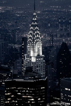 The Crysler Building NYC. In the top 5.