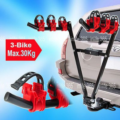 3 bike rear #towbar #mount cycle bicycle carrier car rack tow bar #towball ,  View more on the LINK: 	http://www.zeppy.io/product/gb/2/272051227392/