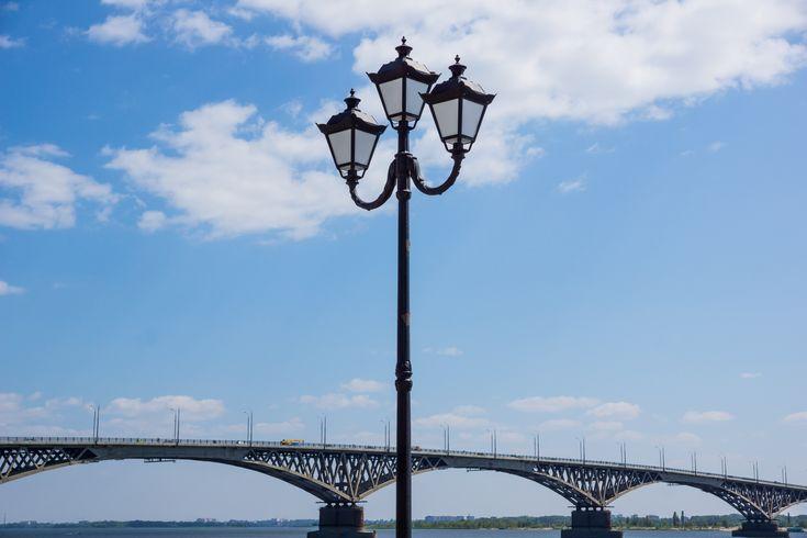 Фото саратовского моста в хорошем качестве и высоком разрешении