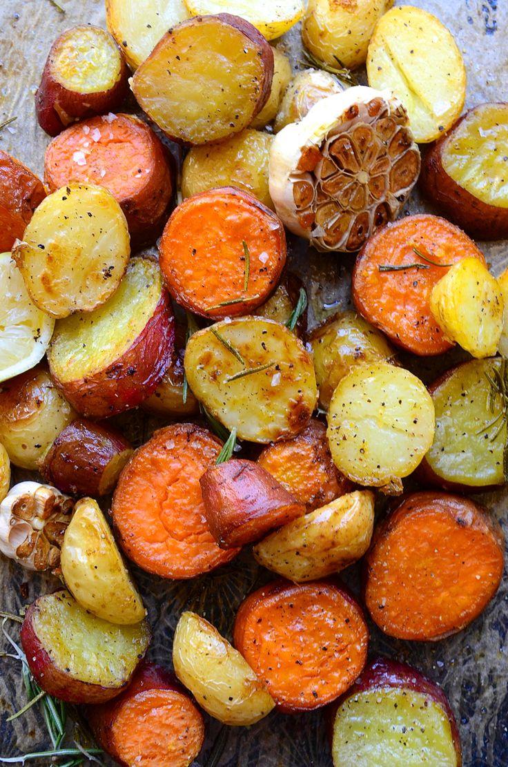 Roast Potatoes with Rosemary, Garlic, and Lemon