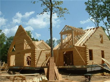 14 best images about log construction on pinterest for Butt and pass log home construction