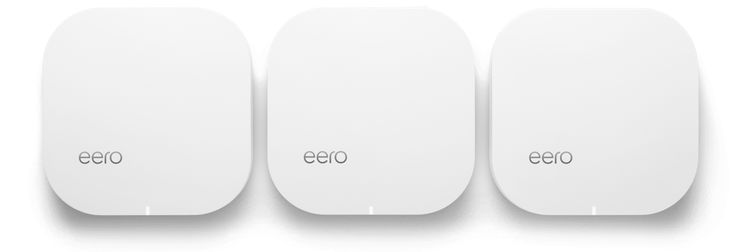 eero is the world's first home WiFi system. A set of three eeros covers the typical home. They work in perfect unison to deliver hyper-fast, super-stable WiFi to every square foot. It's simple to set up. Easy to manage. And gets better over time with new features and improved performance. Stream video, get work done, or swipe right in any room — not just next to your router. Finally. WiFi that actually works.