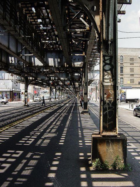 the Bronx, under the El