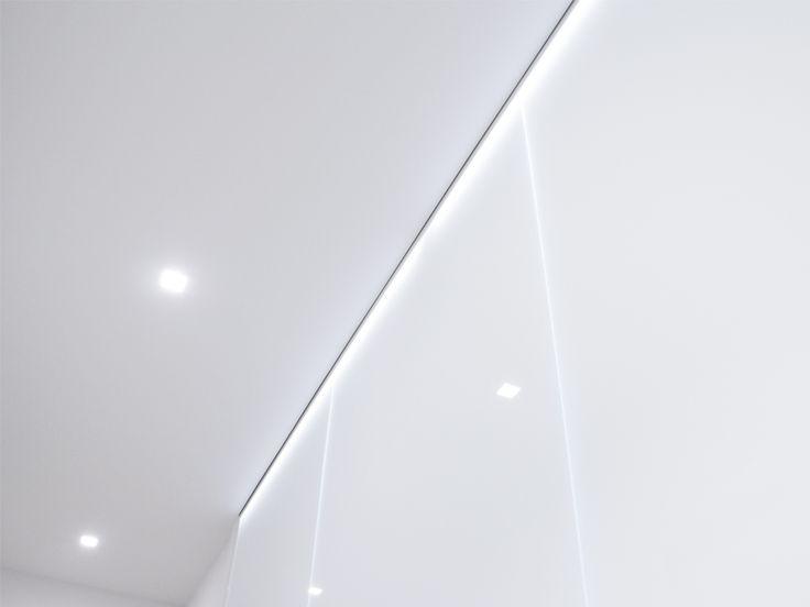 La sfida progettuale del dipartimento Interior è stata quella di mantenere e valorizzare la luce naturale e la risposta di progetto per separare gli spazi in numerosi uffici, sale d'aspetto e sale riunioni è stata quella di utilizzare il vetro come materiale divisorio.