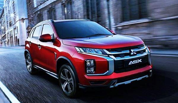 2022 Mitsubishi Asx New Design In 2020 Mitsubishi Outlander Outlander Sport Mitsubishi Outlander Sport