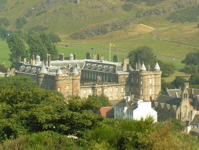 Holy Rood Castle - Scotland (home of Mary, Queen of Scots)