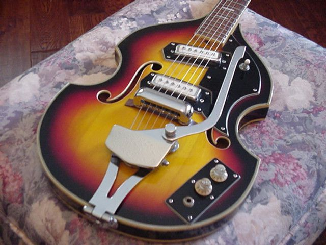 vintage greco semi hollow body electric guitar japanese japan mij very clean guitars. Black Bedroom Furniture Sets. Home Design Ideas