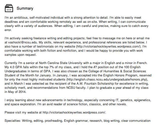Pinterestu0027teki 25u0027den fazla en iyi Linkedin summary fikri Özgeçmiş - writing a professional summary