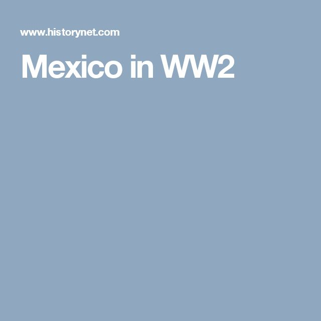 Mexico in WW2
