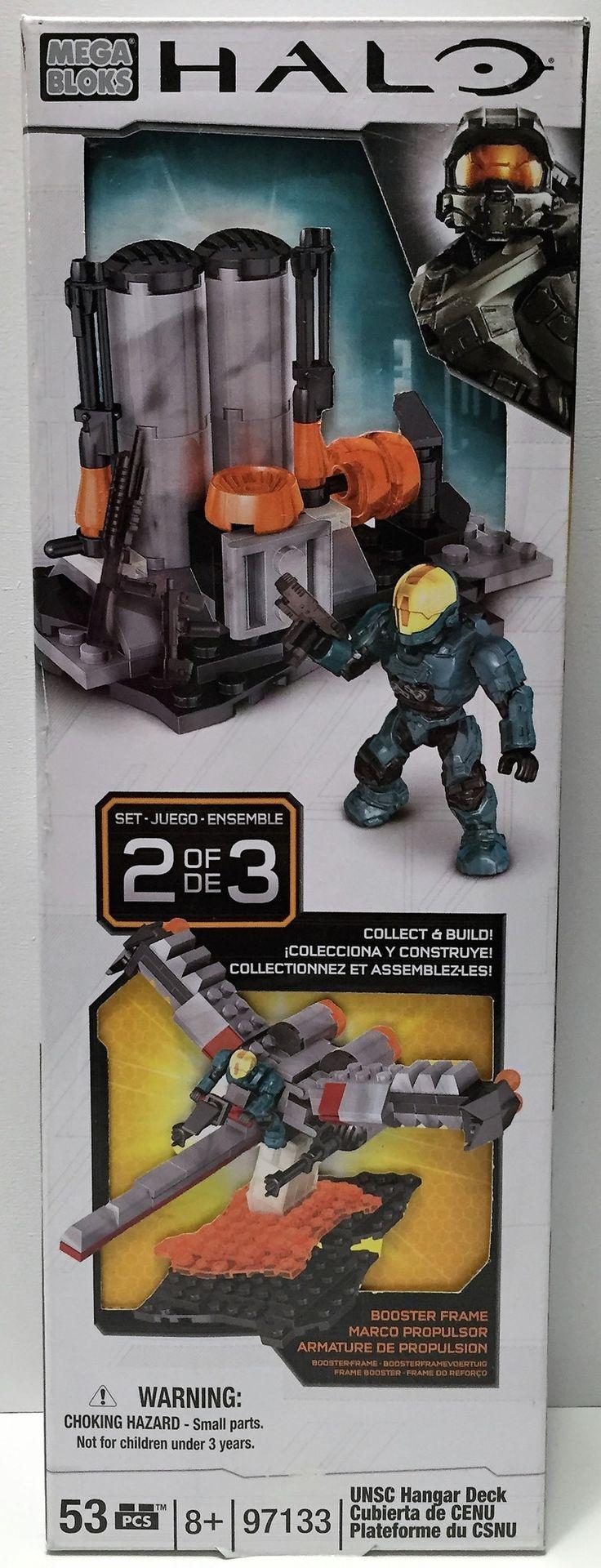 (TAS033752) - 2013 Mega Bloks Collectible Buildable Halo Toyset - Set 2 of 3