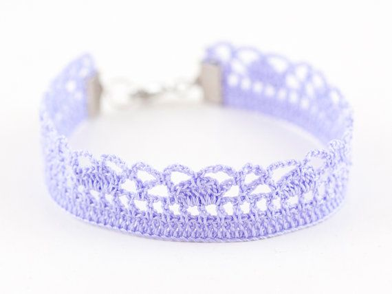 Hey, I found this really awesome Etsy listing at https://www.etsy.com/listing/188713797/lavender-victorian-bracelet-crochet-lace
