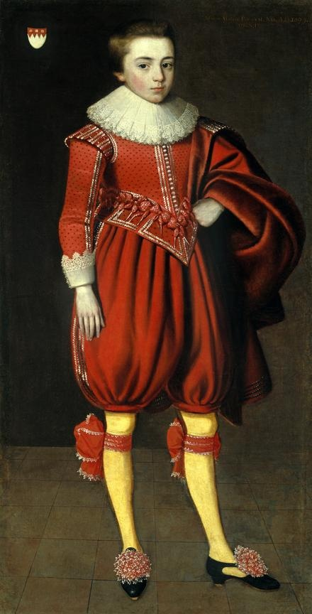 Master Philip Perceval (later, a knighted English politician, lived 1605–1647)