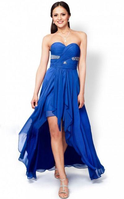 Sleeveless Zipper Chiffon Strapless,Sweetheart A-line Formal Dresses gjea70316