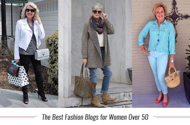 Best Fashion Blogs Women Over 50 - Fashion Over 50