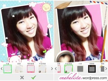 POCO Beauty Camera App Review Frames 2