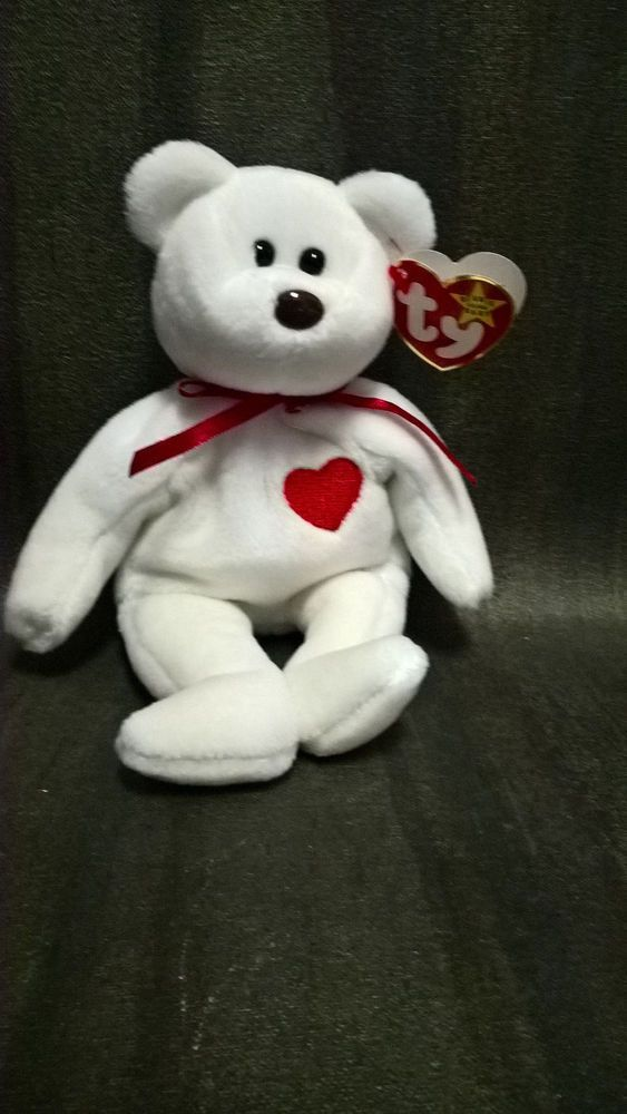18fd430c6be Ty Beanie Baby Original Style 4058 Valentino P.V.C Pellets 1993 Great  condition  Ty