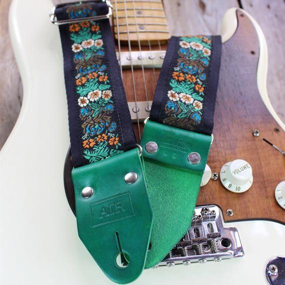 Guitar Strap Leather Guitar Straps Ltd Ed Eden Etsy In 2020 Guitar Strap Guitar Strap Vintage Leather Guitar Straps
