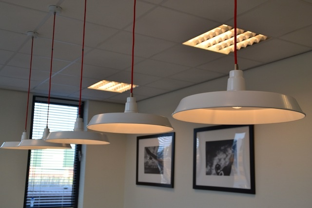 Lamps in the canteen