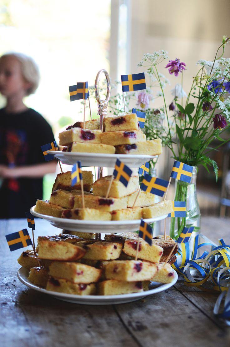 18 tips på dukning och dekoration till student, nationaldag, midsommar och sommarfester_Helena Lyth