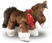 August 3, 2014 Milwaukee Brewers vs. St. Louis Cardinals - Mini Clydesdale by Build-A-Bear Workshop -