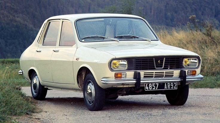 """Renault 12 TL 1969 couleur """"motte de beurre"""""""