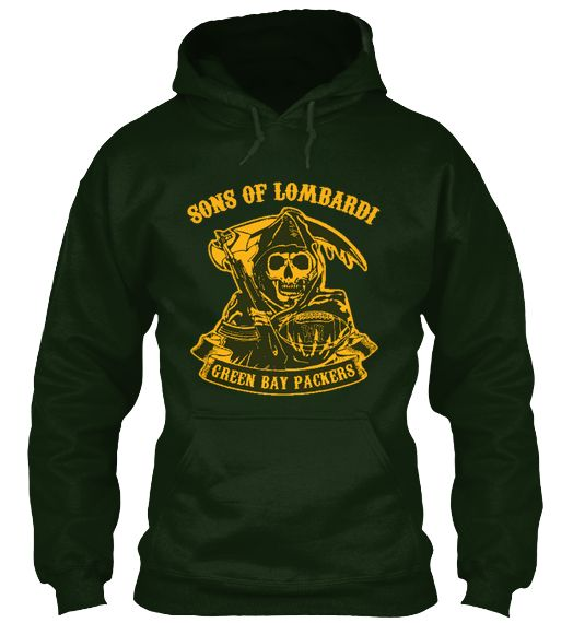 Limited Edition Green Bay Packers Hoodie | Teespring