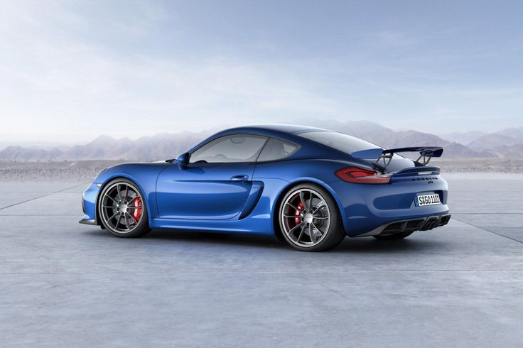The Porsche Cayman as first introduced in 2006 with the GT4 model being…
