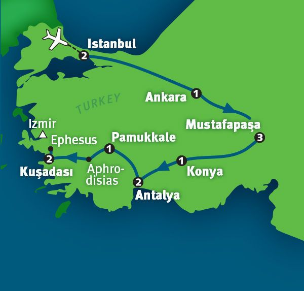 2015 Rick Steve's guided tour of Turkey - 13 days - $2695 + air
