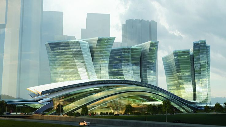 Aedas Limited – Express Rail Link West Kowloon Terminus, Hong Kong