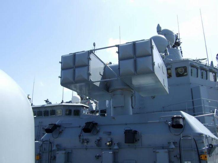 f 208 fgs niedersachsen mk 29 rim-7 sea sparrow missile launcher german navy