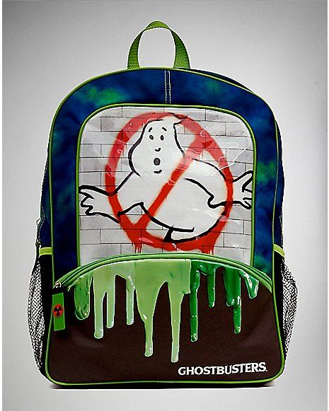 Slime Ghostbusters Backpack - Spencer's