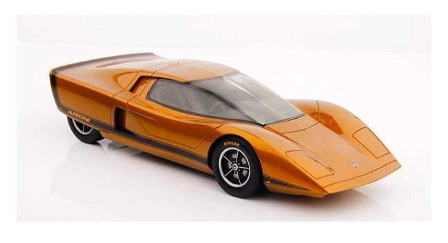 1:18 Scale. Holden Hurricane Concept Car. This model is sealed resin, it has no opening parts. Limited Edition of TBA.  SRP: $250.00