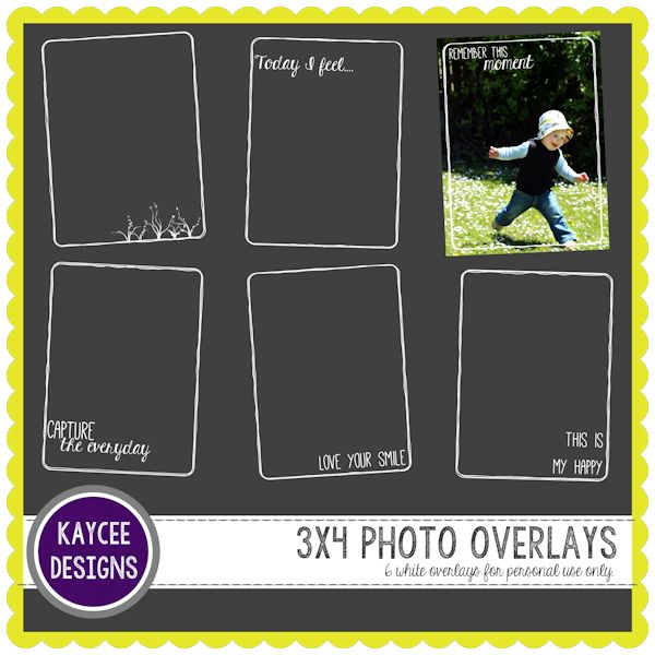 Freebie Week 2 - KayCee Layouts & Designs