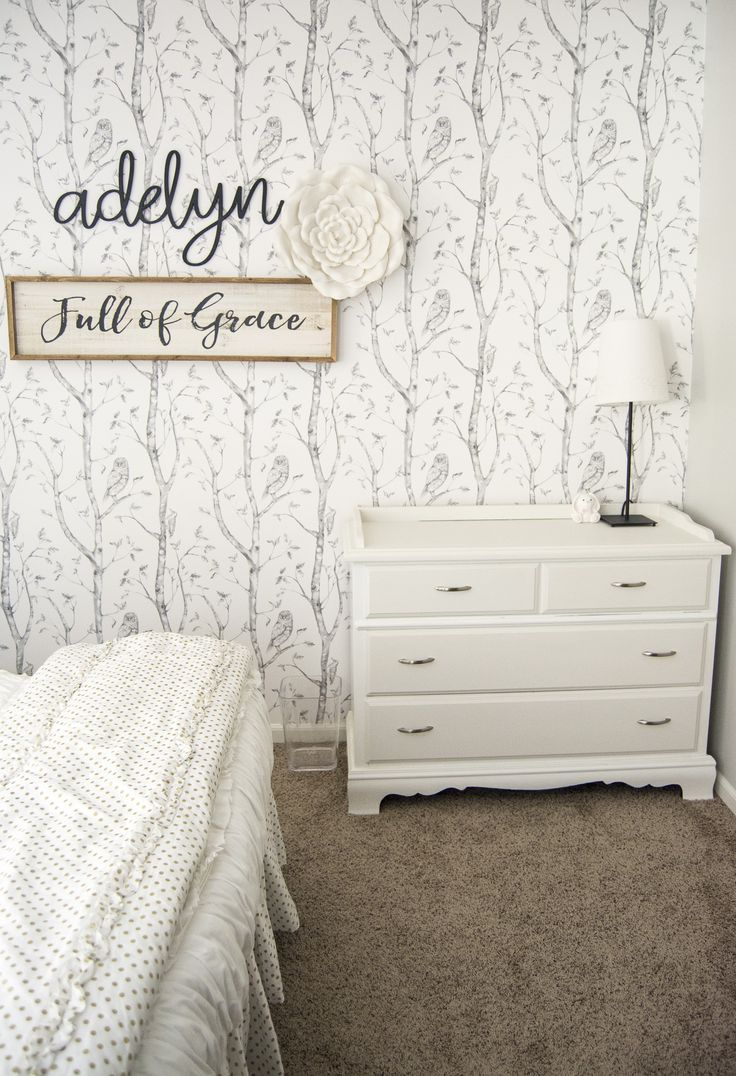 """If you want a simple and sweet style for your girl's bedroom decor then come take a peek at this """"modern farmhouse meets little girl"""" bedroom makeover."""
