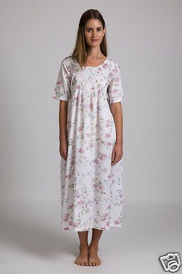 Cotton nightwear Floral printed - Cotton Dreams Nighties Voile MD-83 in Clothing, Shoes, Accessories, Women's Clothing, Sleepwear | eBay