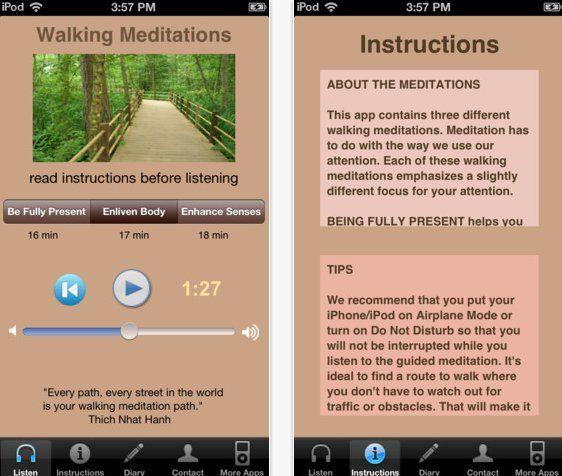 8 De-Stressing Meditation Apps
