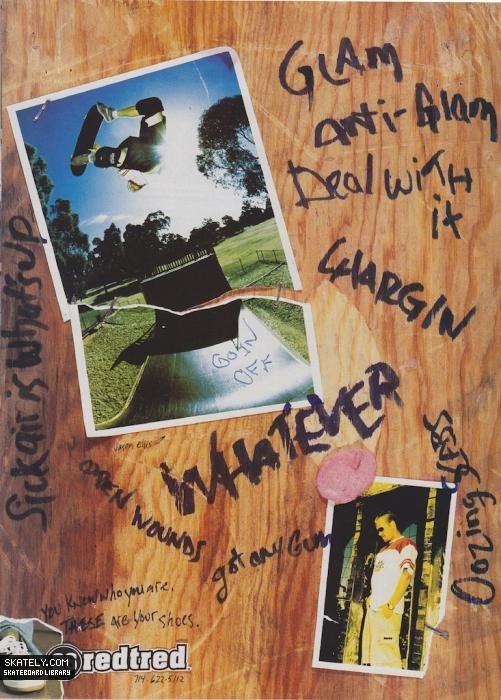 26 Redtred - Jason Ellis Ad (1997)