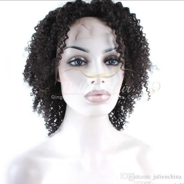 Full Lace Wig 100% Indian Human Hair Wig Kinky Curl Natural Black Color Bella Hair Hair Wigs Wholesale Human Hair Lace Wigs Uk Brazilian Curly Wig From Julienchina, $93.47| Dhgate.Com