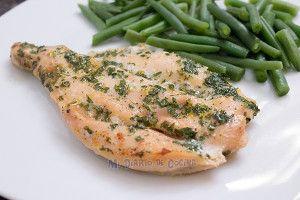 Filete de pollo al horno con perejil y limón – Mi Diario de Cocina
